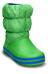 Crocs Winter Puff - Bottes Enfant - vert